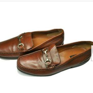 Bostonian Loafer Casual Brown Leather Slip On 11M